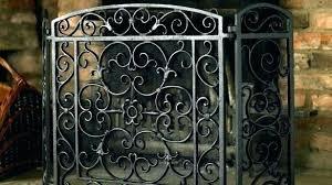cast iron fireplace screen firescreen with doors delightful design fireplace screens with doors small cast iron