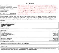 sample business insurance quote pg2