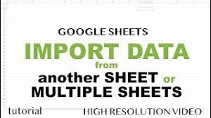 Google Sheets - Named Ranges, Dynamic Updates, with IMPORTRANGE ...