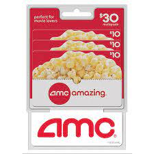 Notify me when tickets go on sale. Amc Theatres 30 Multi Pack 3 10 Gift Cards Sam S Club