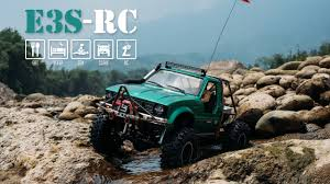 E3S RC TOYOTA Hilux Truggy SCX 10 SCALE RC TRUCK 4X4 Crawling the ...