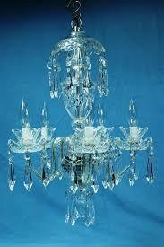 vintage waterford a5 avoca 5 arm cut crystal chandelier signed beautiful 1 owner 1731213512