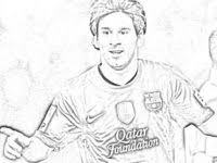 Lionel Messi Drawing At Getdrawingscom Free For Personal Use