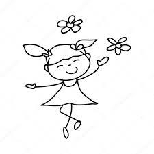 Bambini Felici Di Personaggio Dei Cartoni Animati Vettoriali Stock