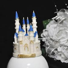 Cinderella Castle Cake Topper Fairytale Princess Personalised