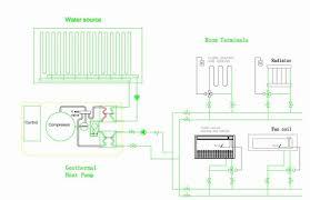 heat pump geothermal heatpump water source ground source geothermal heatpumps diagram flexible installation