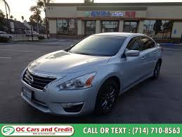 used 2016 nissan altima in garden grove california oc cars and credit garden
