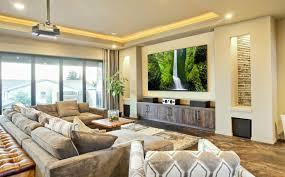 living room with tv. Movie Theme Living Room · View In Gallery With Tv N