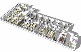best office layout design. Open Office Layout 3d Design Best