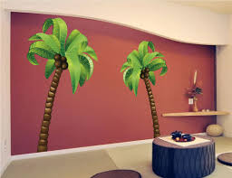 palm tree wall art decals