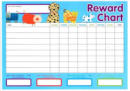 Template For Resume Word Printable Reward Sticker Chart Charts And