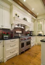 Kitchen Brick Backsplashes For Warm And Inviting Cooking Areas Mesmerizing Kitchen Cabinet Backsplash