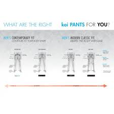 Koi Stretch Men S Ryan Slim Leg Cargo Pocket Scrub Pants 604