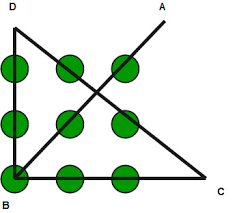 You have given 9 dots in the form of 2d matrix 3 * 3. Puzzle Draw 4 Straight Line In 3 3 Matrix 9 Dots Geeksforgeeks