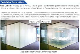 switchable privacy glass cost uk low safety electric switchable laminated smart glass privacy