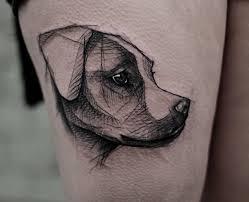 10 Těch Nejoriginálnějších Tetování Psů Psí úsměv