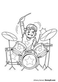 Small Picture Have the kids draw themselves like rockstars or draw a rock star