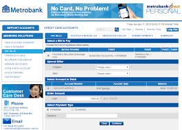 Check spelling or type a new query. Can I Pay My Metrobank Credit Card Thru Bdo Online Credit Walls