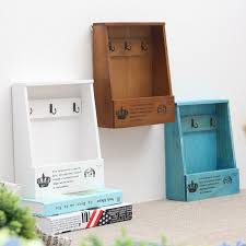 Decorative Display Boxes 100 Wood Storage Box Wooden Shelf Display Holder Wall Hanging 38