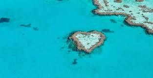 islas en forma de corazón