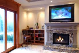 pros to mounting a tv over your fireplace