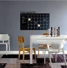 4 size diy monthly planner chalkboard blackboard removable calendar wall sticker