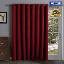 image is loading slidingbarndoorpanelsthermalinsulatedblackout curtains patio door blackout curtains a98 curtains