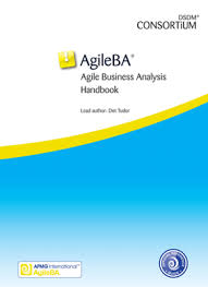 Agileba® Agile Business Analysis Handbook | Apmg Business Books