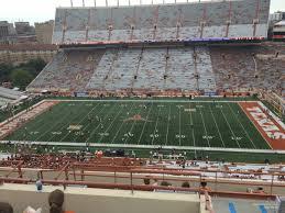 Dkr Texas Memorial Stadium Section 126 Rateyourseats Com