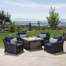 fire pit sets outdoor furniture sets