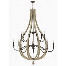 fredrick ramond middlefield iron rust 12 light chandelier