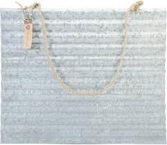 corrugated metal for diy sign