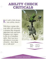 Ability Check Criticals Morrus Unofficial Tabletop Rpg News