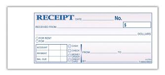 receipt for rent receipt template for rent payment