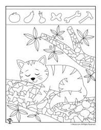 Continue stay on highlights kids. Easy Hidden Pictures With Animals Printable Activity Pages Woo Jr Kids Activities