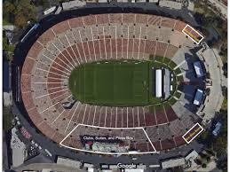 La Coliseum Seating Chart Soccer Los Angeles Memorial Coliseum 77 500 Page 17