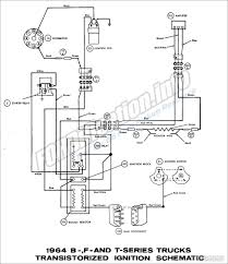 1964 ford truck wiring diagrams fordification info the 61 66 1964 b f and t series trucks transistorized ignition schematic