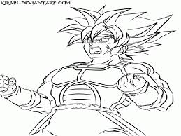 Dragon Ball Z Coloring Pages Goku Super Saiyan 5 - Coloring Home