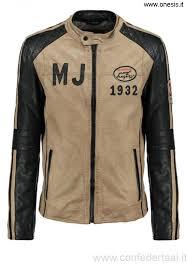 beige adorazione uomini giacche mustang david giacca di black qoqfj18006373