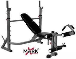 xmark olympic weight bench w leg preacher curl xm 4422