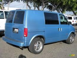 1994 Light Quasar Blue Metallic Chevrolet Astro Cargo Van ...