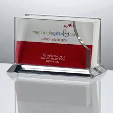 remarkable engraved desk business card holder cards crystal desktop for lawyers personalized personalised