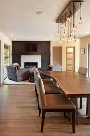 lighting in dining room. dave giulietti modern dining room portland schouten architects thinking ab it not sure dh agree with the electricity consumption lighting in