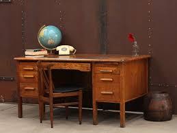 vintage office desk. exellent vintage wooden oak vintage office desk inside