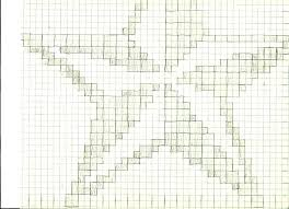 Graph Paper Draw 5 Degrees Of Weirdness Crocheted 2 Color Star Pattern And Chart Make