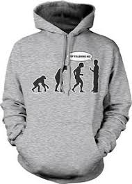 Evolution Of Man Chart Details About Evolution Chart Stop Following Me Apes Monkeys Humans Man Turn Hoodie Sweatshirt