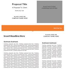 Proposal Templates Free 34 Best Marketing Proposal Templates Samples Free Premium