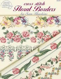 Floral Cross Stitch Patterns Interesting Decorating Design