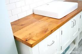 plywood countertop