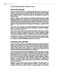 international business strategy case study on unilever a level page 1